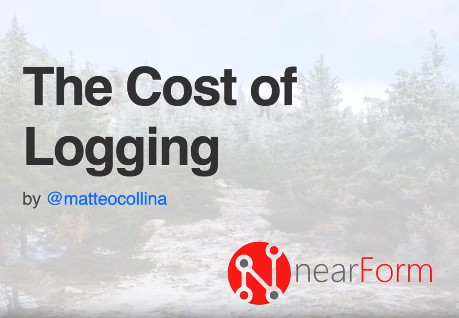 The Cost of Logging