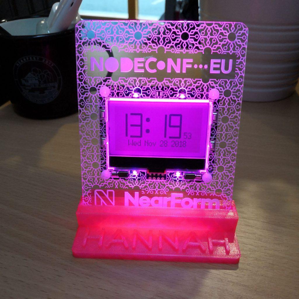 Sending 1.24 million MQTT messages from NodeConf EU to Azure (and lots more digital badge details)