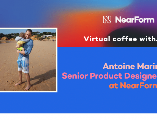 Virtual Coffee With NearForm Senior Product Designer, Antoine Marin