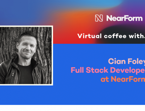 Virtual Coffee with Cian Foley, Full Stack Developer at NearForm
