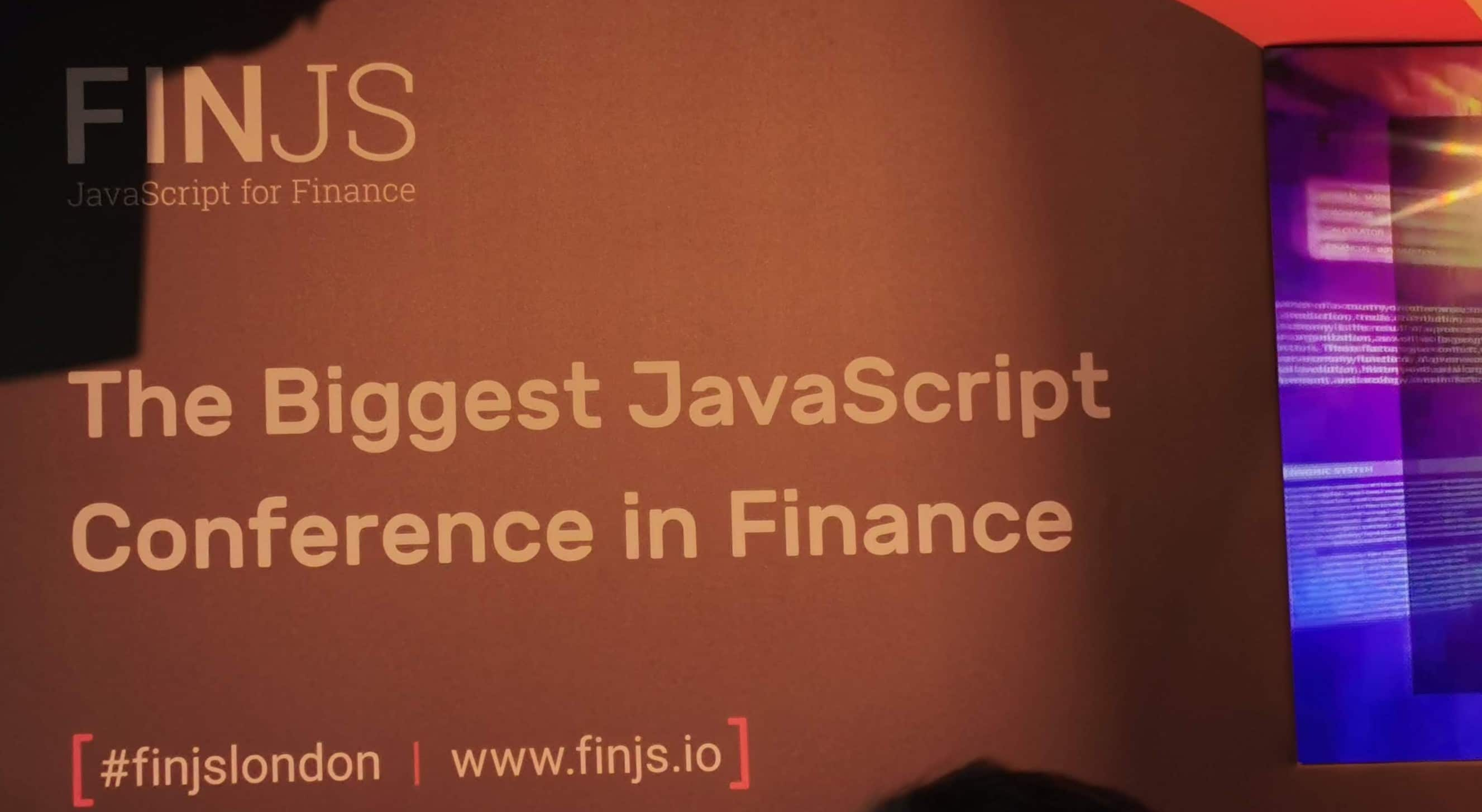 The Future of WebApps and the winners at FinJS & FinTech World Forum 12 years later