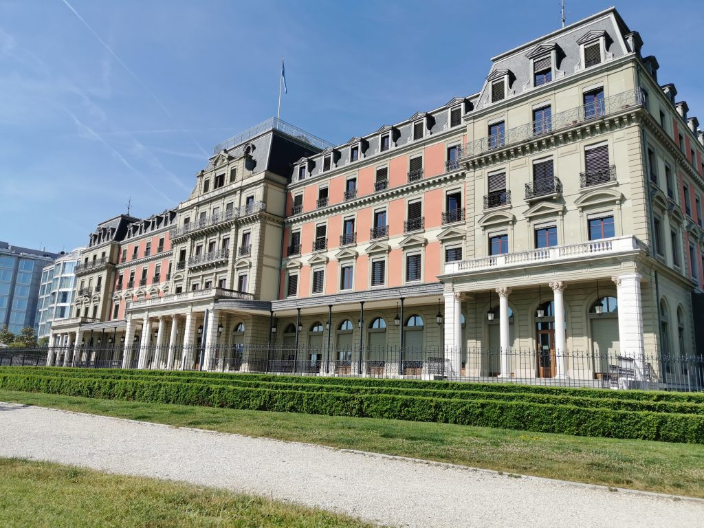 Call for Code headquarters at Palais Wilson
