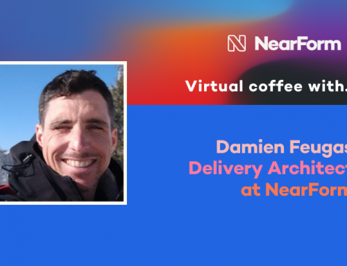 Virtual Coffee With NearForm Delivery Architect, Damien Feugas