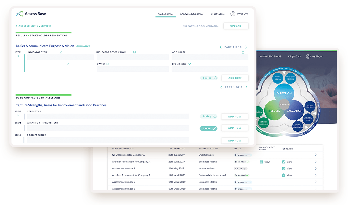 EFQM digital platform