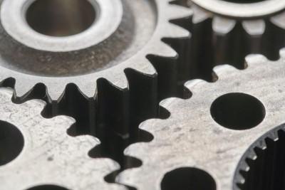 gears simulating kubernetes architecture