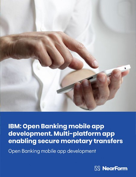 IBM Open Banking mobile app development