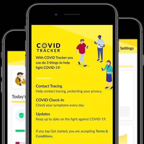 Covid tracker Ireland App