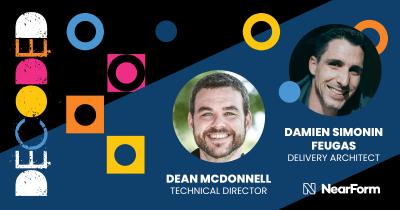 Damien Simonin Feugas and Dean McDonnell profile card