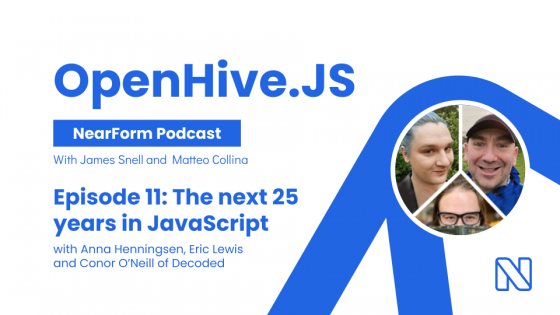OpenHive.JS podcast: the next 25 years of JavaScript