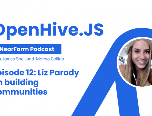 OpenHive.js talks with Liz Parody about building communities