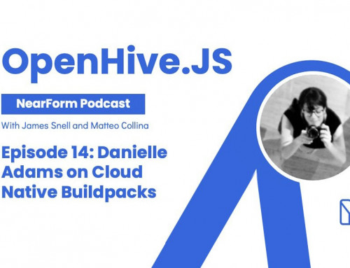OpenHive.js talks with Danielle Adams about Cloud Native Buildpacks