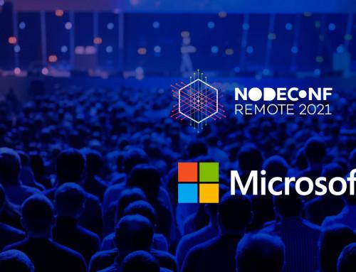 Microsoft Loves NodeConf Remote 2021